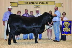 Futurity Black Female- Champ - Tanner Miller