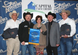 First Place Brangus Open Heifers were consigned by Bell Cattle Co. of Gainesville, Texas
