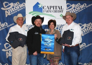 First Place Brangus Bred Heifers were consigned by MK Ranch of Era, Texas