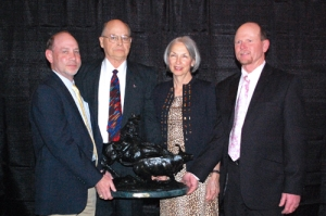 Trey Kirkpatrick, David Vaughan, Susan Vaughan, and Dr. Tommy Perkins