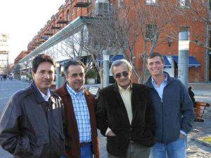 Marcos Borges, Marcos Meirelles, Dr. Fernando Lamarca, Me in Argentina_72